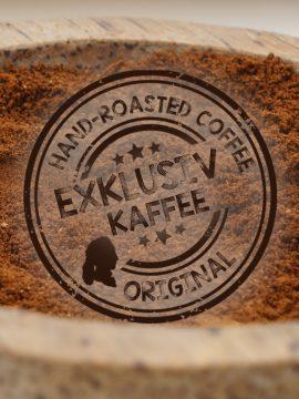 Exklusive Kaffeebohnen