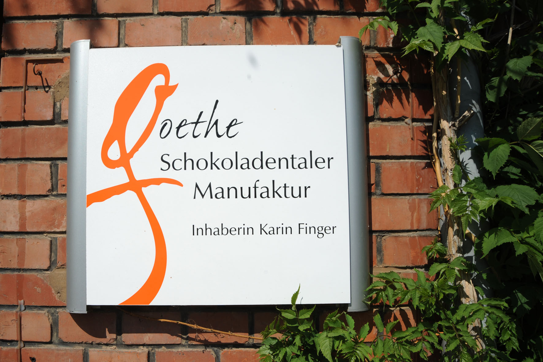 Die Goethe Schokothaler Manufaktur  Bad Frankenhausen   15.05.2008   Foto: Nikola   Text: Hoernle